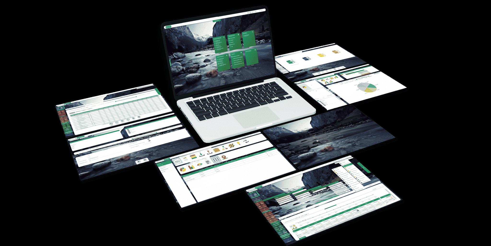 seneca controlling software oberfläche